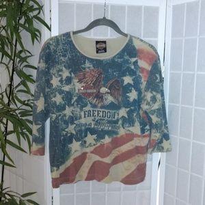 Harley Davidson 2X Ladies Shirt